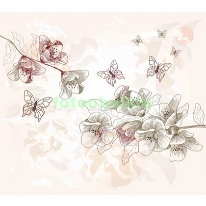 Рисунок цветы магнолии