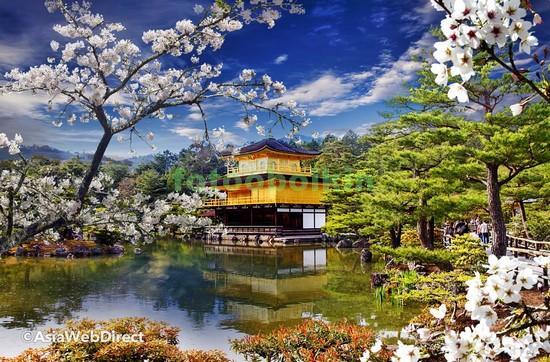 Дворец на берегу озера