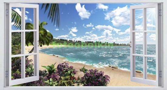 Пляж с морем