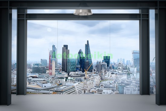 Лондон вид с небоскреба