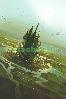 Инапланетный замок