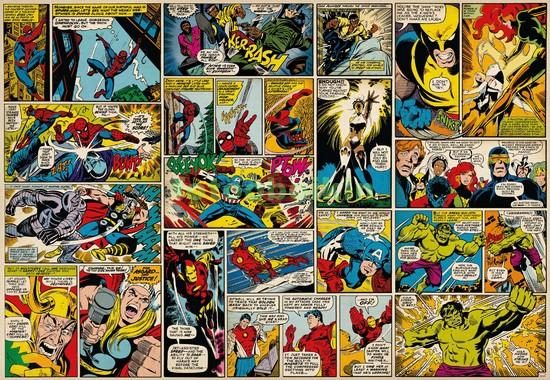 Страница из комикса