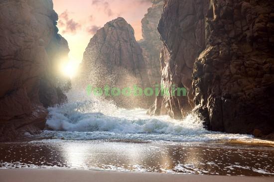 Красивый берег моря