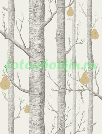 Стволы деревьев
