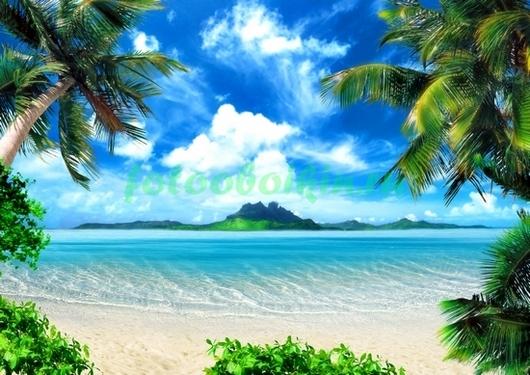 Вулкан на острове