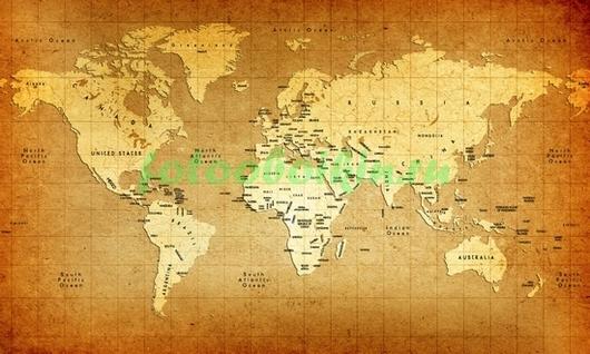 Карта со странами
