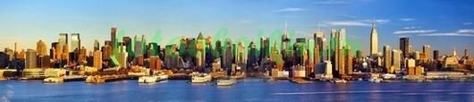 Панорама Нью-Йорк