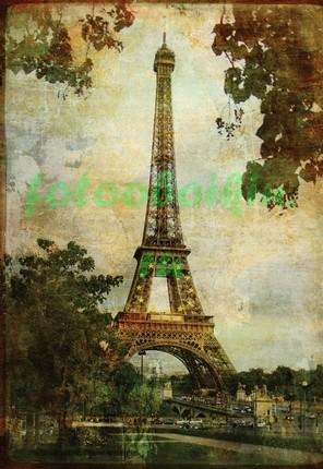 Фреска Эйфелева башня