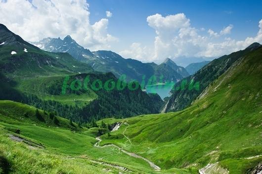 Луга в горах