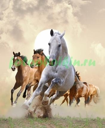 Скачущие лошади