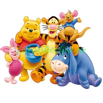 Винни-Пух и его друзья с мёдом