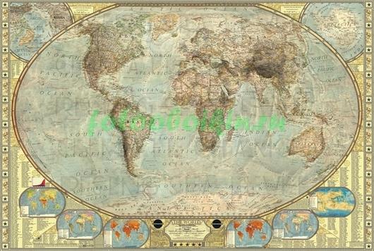 Карта  20 века