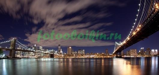 Фотообои Мосты в Нью-Йорке
