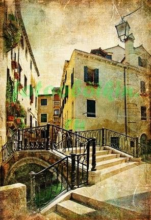 Маленький мостик в Венеции