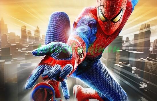 Светящийся человек-паук