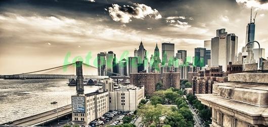 Шикартная панорама на Нью-Йорк