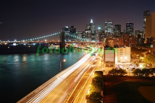 Фотообои Нью-Йорк дорога