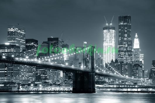 Фотообои Светящийся город