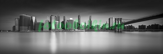 Панорама вечернего города