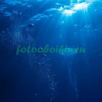 Пузыри в морской воде