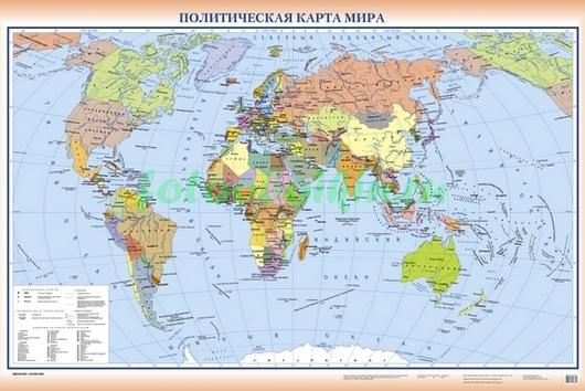 Карта политическая