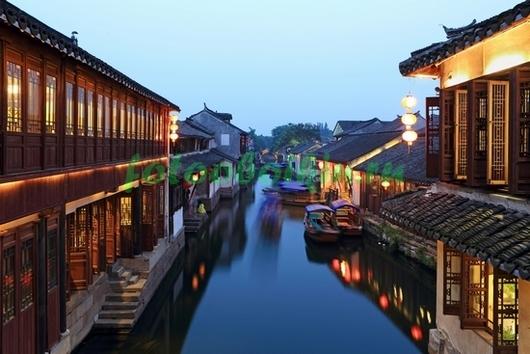 Китайский грод на воде