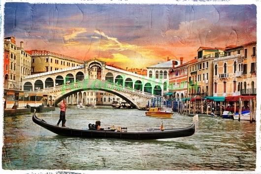 Итальянская открытка
