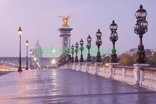 Фотообои Королевский мост в Париже