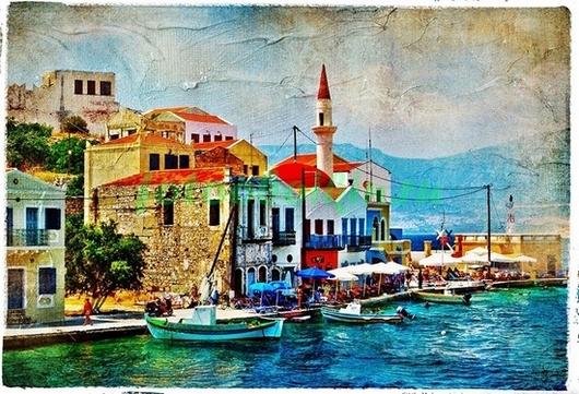 Фреска Греция