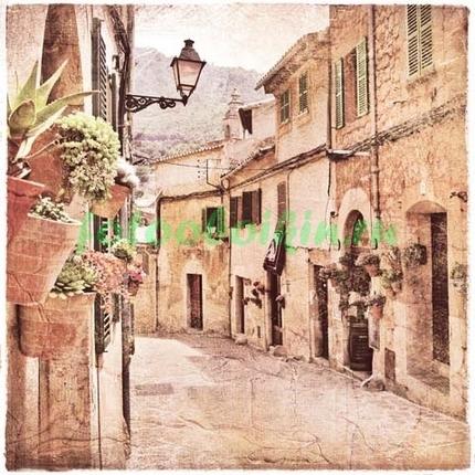 Фреска улочка в Италии