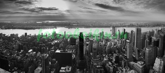 Панорама с Нью-Йорком