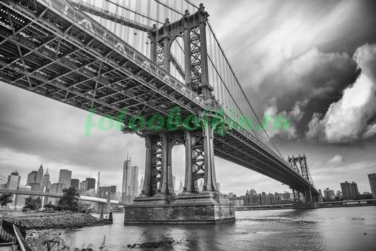 Фотообои Под большим мостом