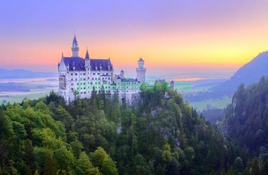 Замок на высокой горе
