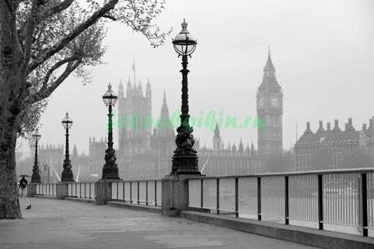 Пасмурный Лондон