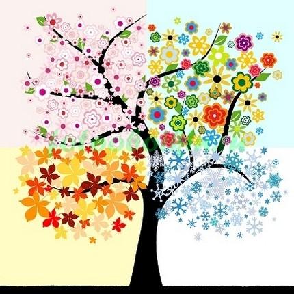 Дерево-времена года