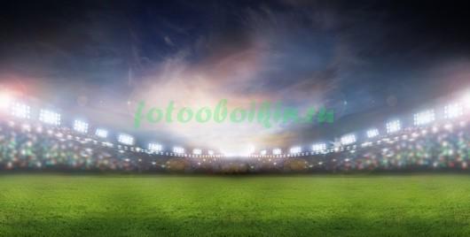 Футбольное поле 3Д