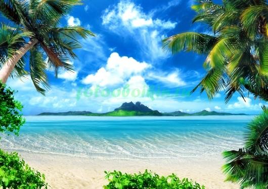 Фотообои Уютный пляж 3Д