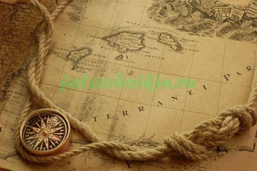 Канат с компасом
