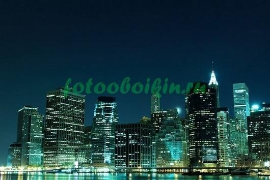 Нью-Йорк в зеленых тонах