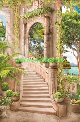 Лестница старинного дворца
