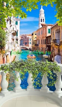 Терраса с видом на Венецию