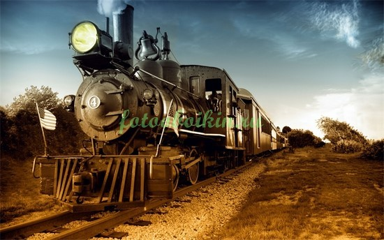Ретро поезд