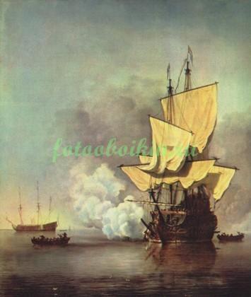 Корабль в бою
