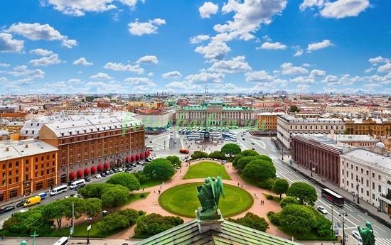 Вид с Казанского собора