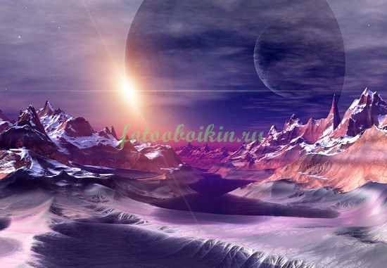 Фотообои Неизведанный космос