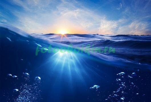 Вода в море
