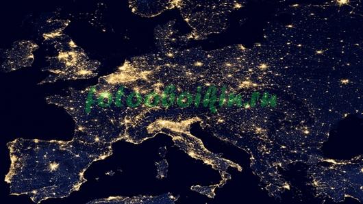 Огни ночной Земли