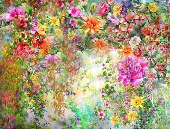 Панно Летние цветы 24