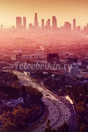 Жаркий вечер в Лос-Анджелесе