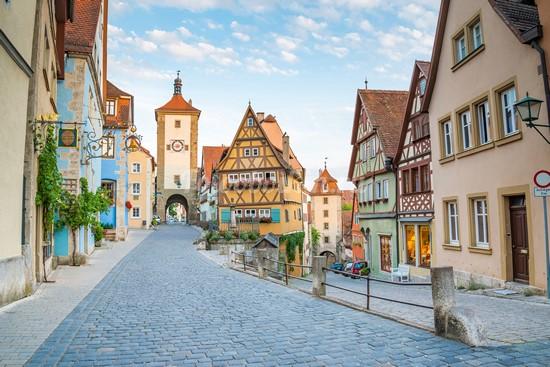 Улочка в Германии